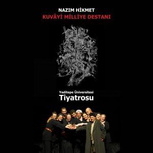 Yeditepe Üniversitesi Çalışanları Tiyatro Grubu Üsküdar Musahipzade Celal Sahnesi'nde
